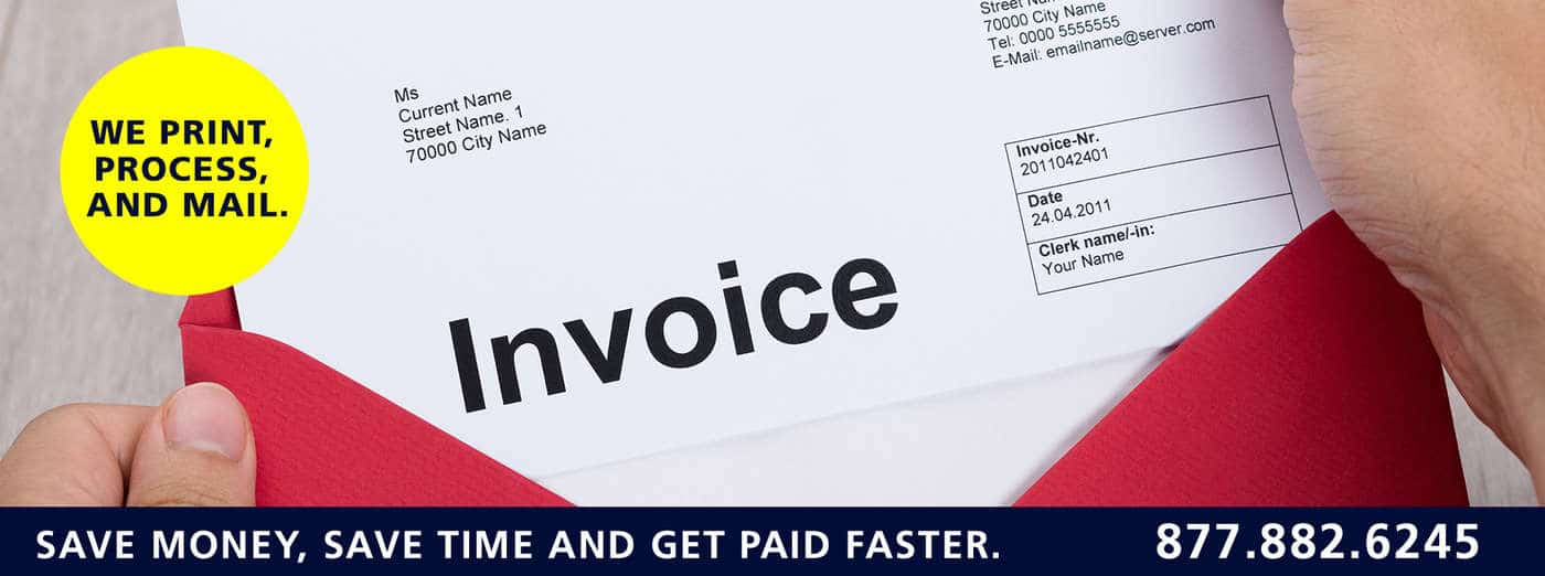 printing and mailing invoices and statements