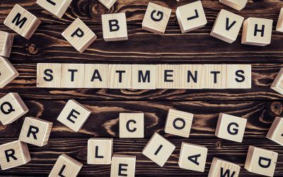 Statements Are Vital To The Productivity & Profitability Of Any Business